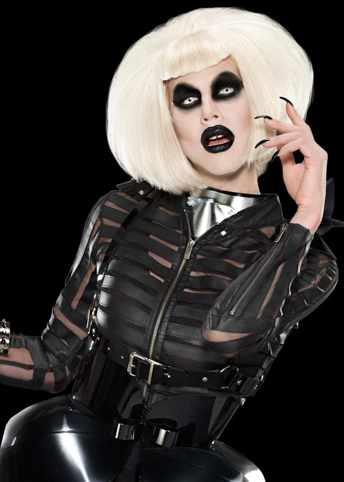 """<p><b>9. Sharon Needles Wins</b><br><br>  We worshiped at whatever altar the bizarre Sharon Needles descended from the minute she graced the """"<a href=""""http://tv.yahoo.com/rupaul-39-s-drag-race/show/44202"""">RuPaul's Drag Race</a>"""" stage with her demonic eyes and bloody appearance. We didn't think she'd last long, as our favorites are almost always axed early on, but she did, and she won the whole damned show. We're so proud that we'd like to buy some gross contact lenses to celebrate.</p>"""