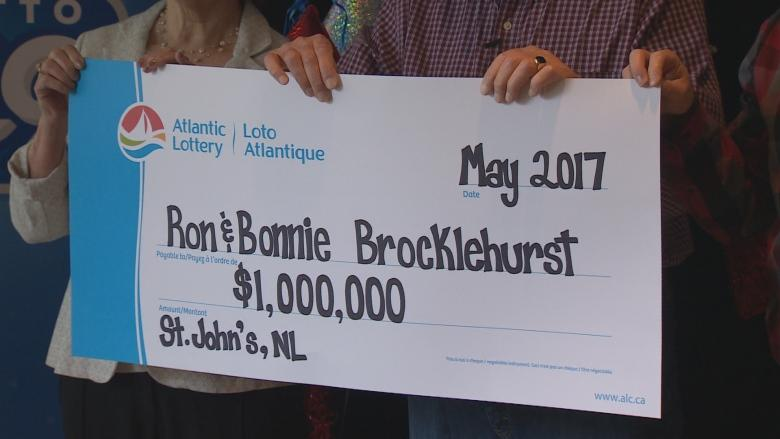 Buy shoes, win $1M: St. John's couple walks away with Lotto 649 jackpot