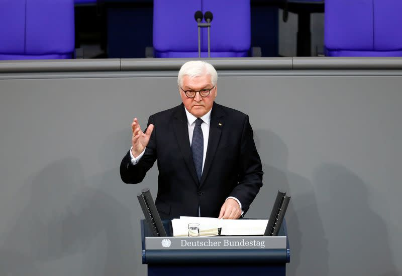 U.S., China, Russia making world more dangerous - German president