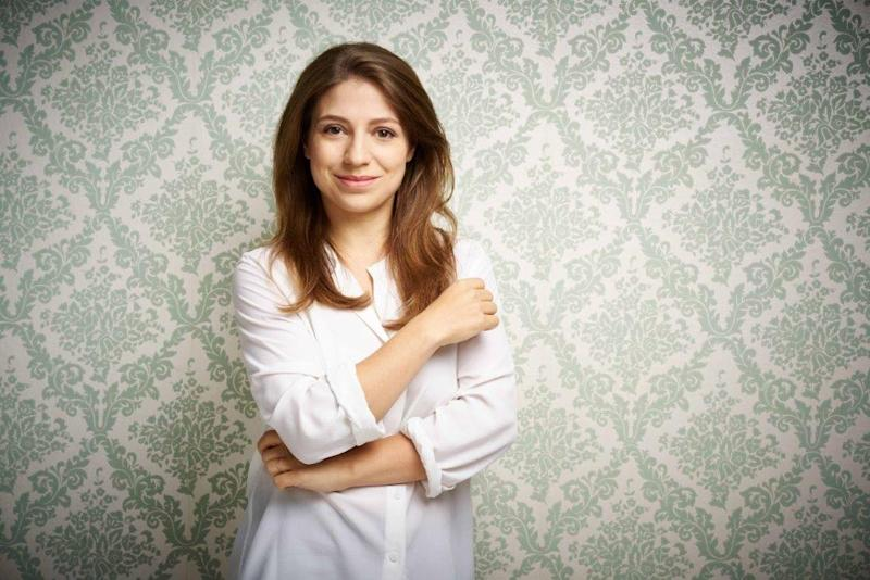 Conductor Dalia Stasevska has said her family has been threatened in the Proms fallout. (Jarmo Katila/PA)