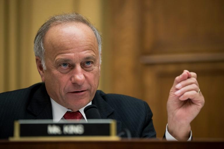 Iowa Republican Steve King is a fierce ally of President Donald Trump in the US House of Representatives