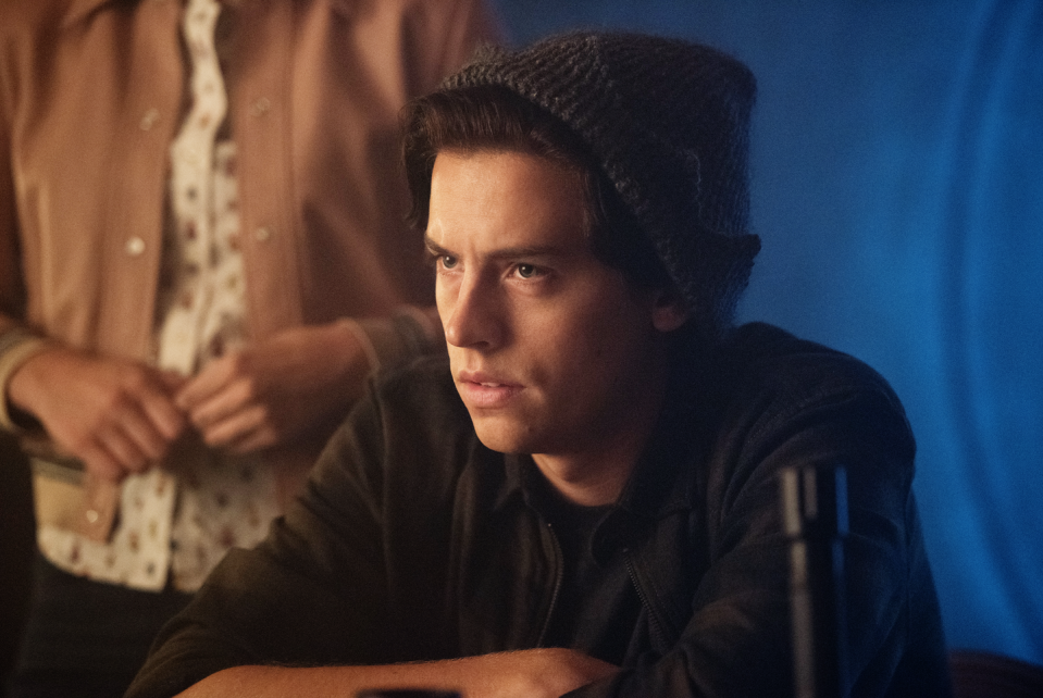 "<p><strong>TV Show:</strong> <em><a href=""https://www.menshealth.com/entertainment/a32495029/riverdale-season-5-release-date-cast-spoilers/"" rel=""nofollow noopener"" target=""_blank"" data-ylk=""slk:Riverdale"" class=""link rapid-noclick-resp"">Riverdale</a></em></p><p>Although Jughead is technically a high school student throughout his time on <em>Riverdale</em>, Sprouse was 24 when the show premiered in January 2017.</p>"