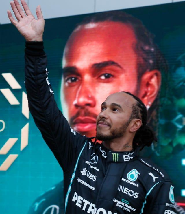 Lewis Hamilton claimed his 100th Formula One victory