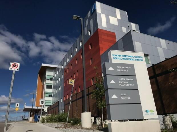 Most elective surgeries and non-urgent procedures are being cancelled at Stanton Territorial Hospital for a week, as the facility deals with an oxygen supply problem that was first identified on Sept. 21.  (Liny Lamberink/CBC - image credit)