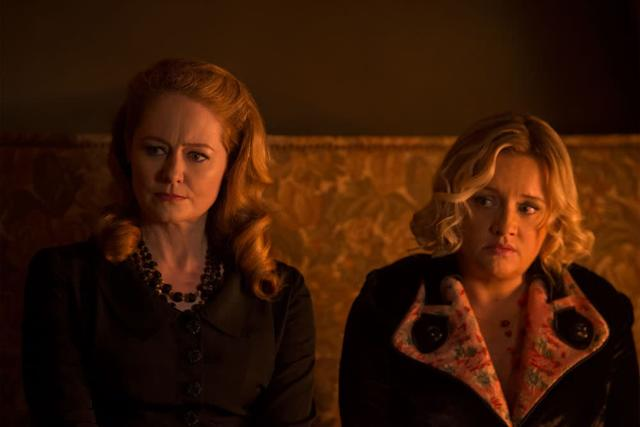 Chilling Adventures Of Sabrina Stars Introduce Aunts Zelda And Hilda