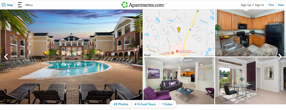 Abberly Village Apartment Homes is located at 1000 Abberly Village Circle in West Columbia.