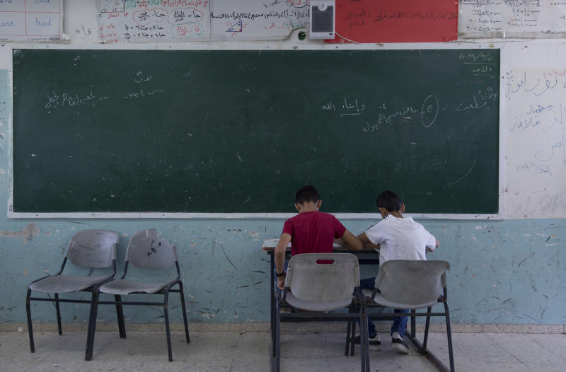 As UN budget dries up, Palestinian classrooms swell in size