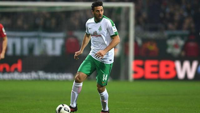 <p>First up, it's Peruvian forward, Claudio Pizarro. The striker has yo yoed between Werder Bremen and Bayern Munich during his footballing career, stopping off for two seasons at Chelsea in between. </p> <br><p>He is a heavily-decorated player, claiming six Bundesliga titles, five DFB-Pokal cups and one Champions League winners medal with Bayern alone. </p> <br><p>His ability to score goals from anywhere is shown through his record, as he currently sits fifth in the all-time Bundesliga goal-scoring charts, netting 191 times. At 38, he's played his final season for Bremen, scoring one goal in ten starts. </p>