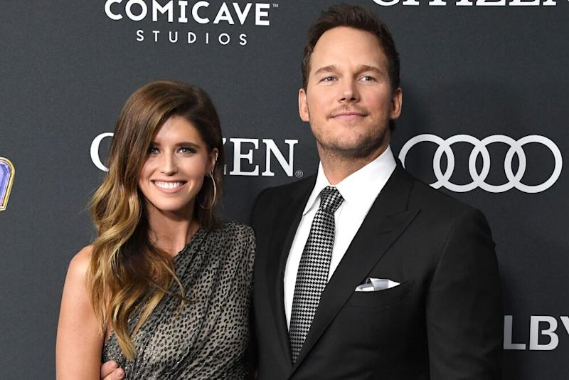 Katherine Schwarzenegger and Chris Pratt | Steve Granitz/WireImage