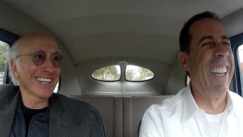 Comedians in Cars Getting Coffee: Jerry Seinfeld and Larry David