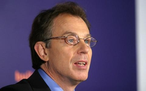 Tony Blair tried to hide his spectacles for three months while Prime Minister in the 1990s, he later admitted - Credit: Ian Jones Retained