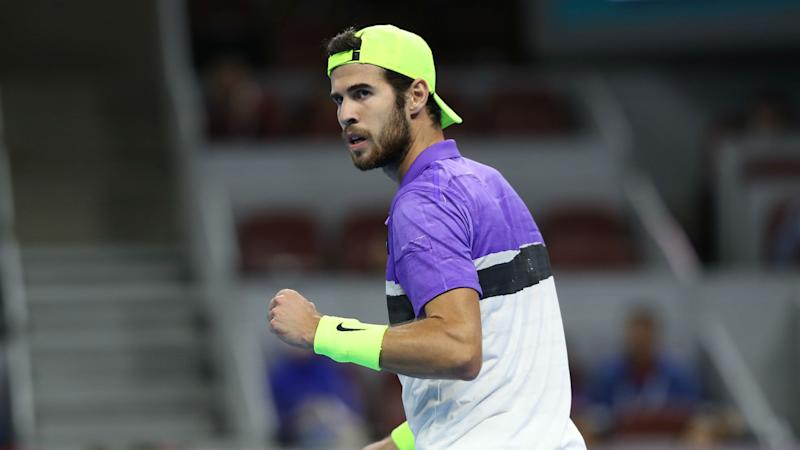 Kremlin Cup: Karen Khachanov makes it to quarterfinals