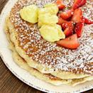 <p>Tons of breakfast chains come to mind quickly, but consider heading to your local First Watch instead the next time you are craving brunch. They offer fresh farm-to-table ingredients that kick their competitors out of the water. We suggest ordering a stack of Lemon Ricotta Pancakes for a satisfying morning meal. </p>