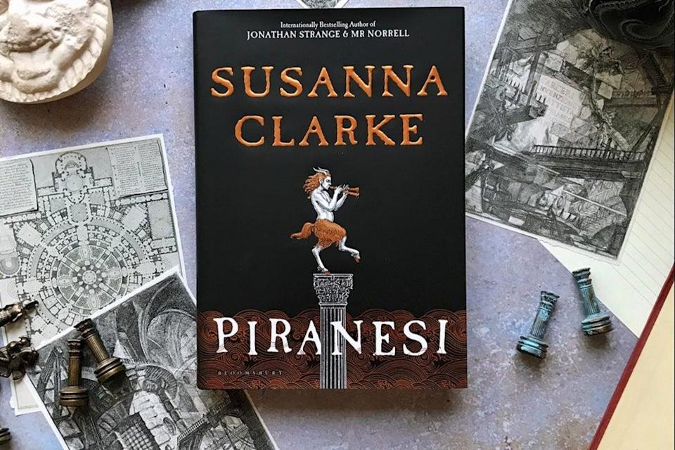 <p>Publisher Bloomsbury said Piranesi by Susanna Clarke has been a popular book during the pandemic</p> (Bloomsbury)