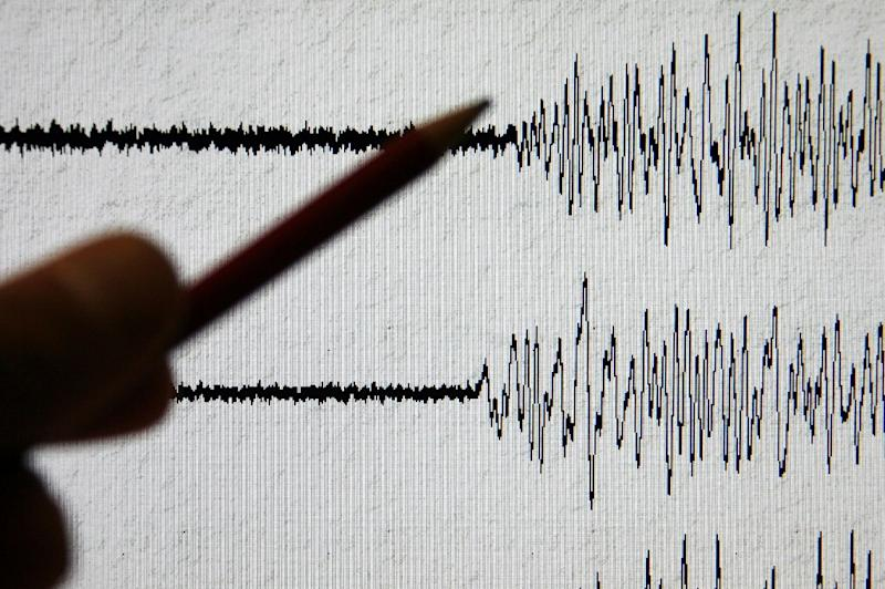 The quake struck southern Xinjiang in western China at a relatively shallow depth of 12 kilometres (seven miles), the USGS said (AFP Photo/Olivier Morin)