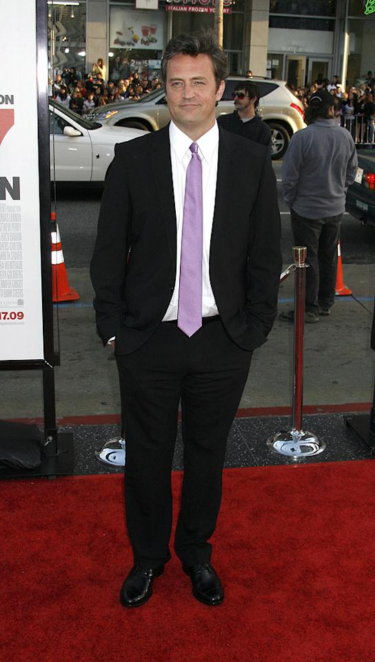 "<a href=""http://movies.yahoo.com/movie/contributor/1800018621"">Matthew Perry</a> at the Los Angeles premiere of <a href=""http://movies.yahoo.com/movie/1810038675/info"">17 Again</a> - 04/14/2009"