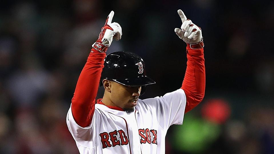 Mookie Betts is 25 and coming off back-to-back 20/20 seasons, while scoring a zillion runs. He's an easy first-rounder.