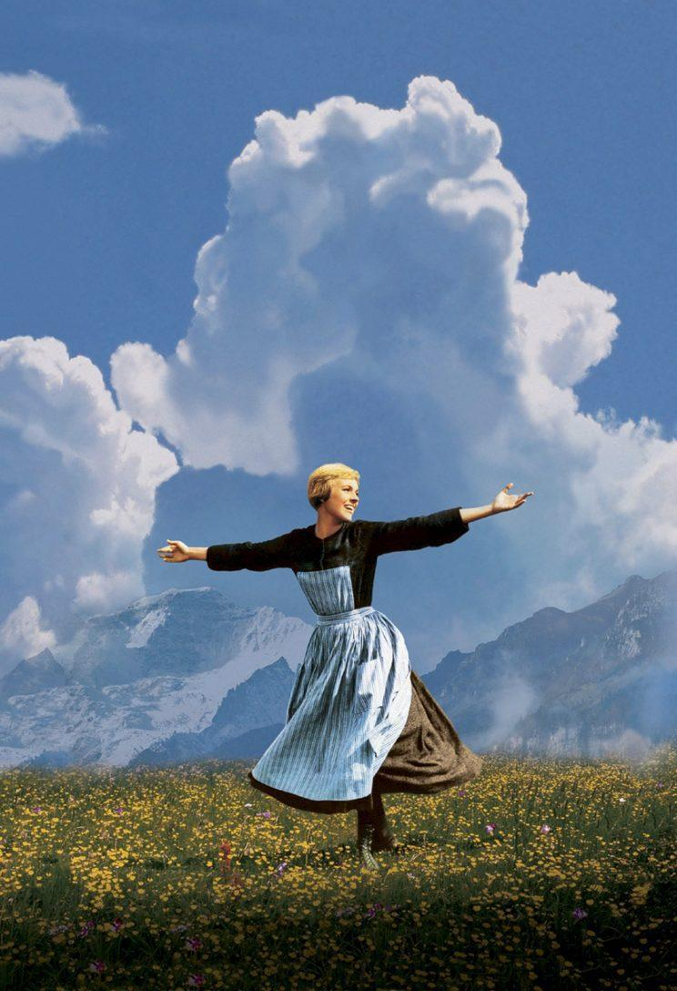 Julie Andrews in the Sound of Music (Rex)