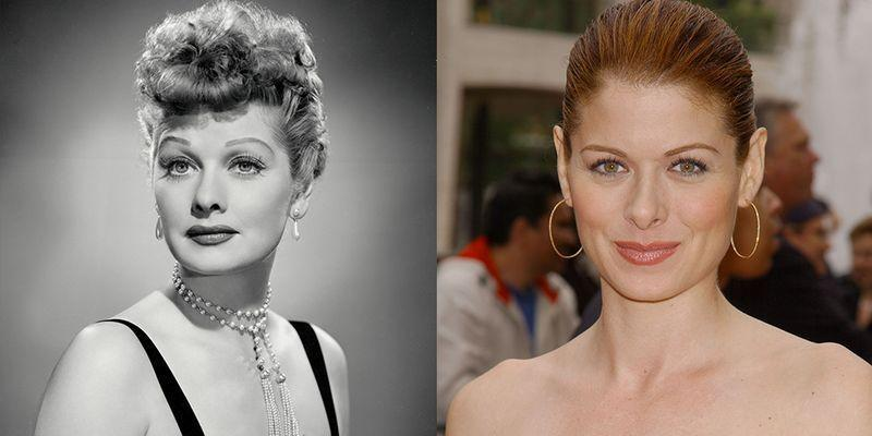 <p>We're still holding out hope that Debra Messing will get to play Lucille Ball one day. It's not just their fiery red hair—their personalities seem similar, too.</p>