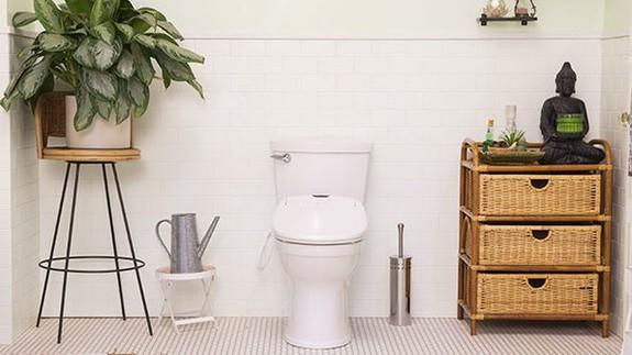 This Luxury Bidet Seat Will Turn Your Toilet Into A Throne And