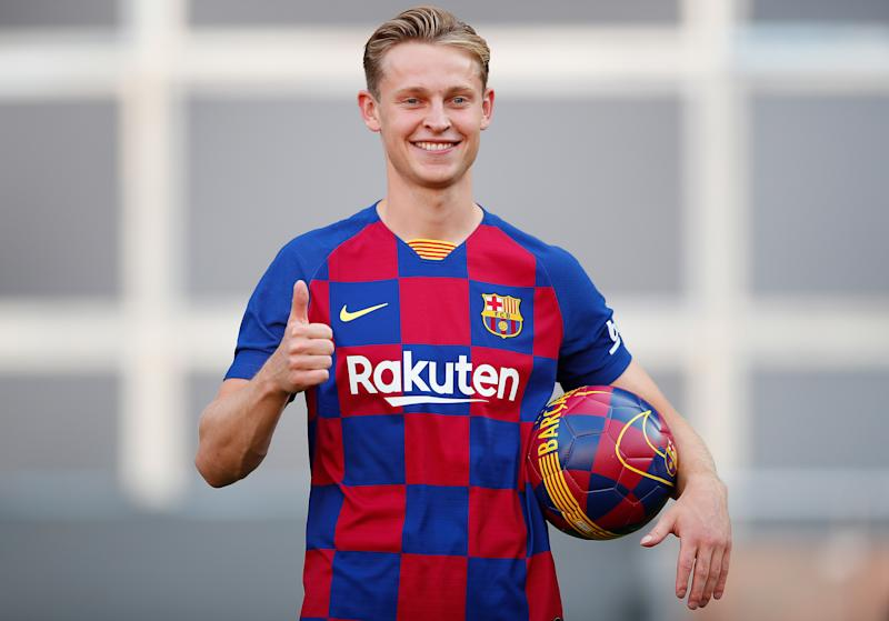 Frenkie de Jong had signed for Barcelona before the season had ended. (Credit: Getty Images)