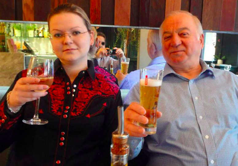 <em>Sergei and Yulia Skripal were poisoned at the front door of the former spy's home (Rex)</em>