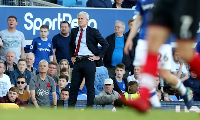 Mark Hughes says 'you have got to deal with the pressure – you have got to think clearly' in such an important match.