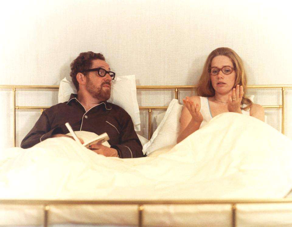 Erland Josephson and Liv Ullmann in Scenes from a Marriage.