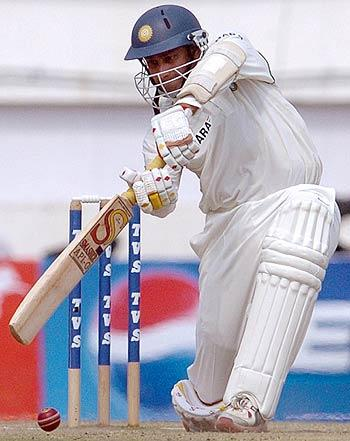 Anil Kumble buckled down to play a fine innings