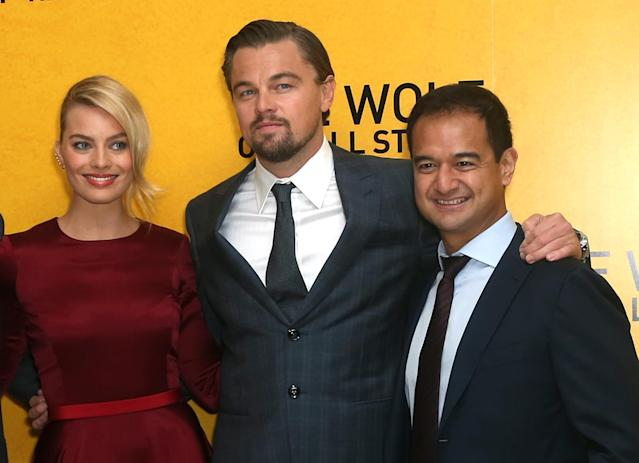 Wolf of Wall Street' producer charged with money laundering