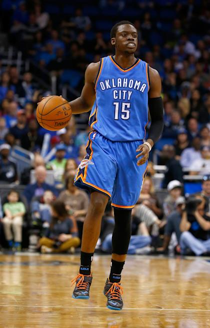 Reggie Jackson's role in OKC diminished after the arrival of Dion Waiters. (Getty Images)