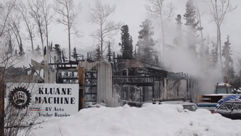 Haines Junction's only auto shop goes up in flames