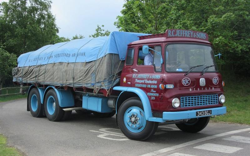 Classic and Vintage Commercial Vehicle Show - Gaydon
