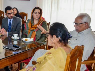 NN Vohra to hold all-party meet today: 2 days into Governor's Rule, security issues in Jammu and Kashmir under scanner