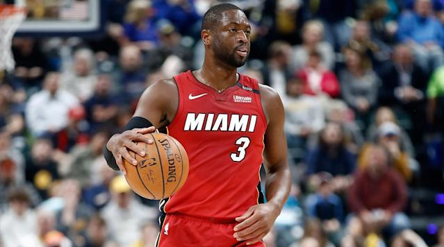 The Heat's Dwyane Wade said he would like to be on the ownership side of the NBA, he said in a story from Bloomberg's Joel Weber's.