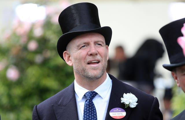 Tindall, pictured at Royal Ascot, has furloughed an employee of his company. Adam Davy/PA Wire