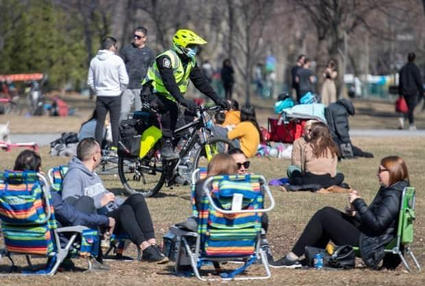 Residents in Montreal and Laval, Que., will have to head inside earlier starting Sunday, or risk a hefty fine.  (Graham Hughes/The Canadian Press - image credit)