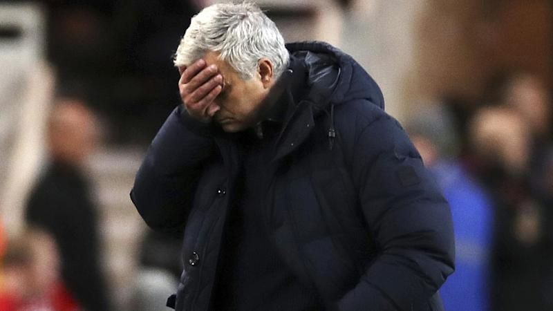 Jose Mourinho's Tottenham Hotspur side have drawn 1-1 with Middlesbrough in the FA Cup third round