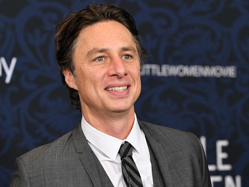 Zach Braff: Getty Images