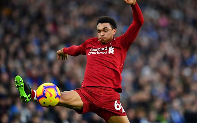 Trent Alexander-Arnold suffered a knee injury last weekend - REUTERS