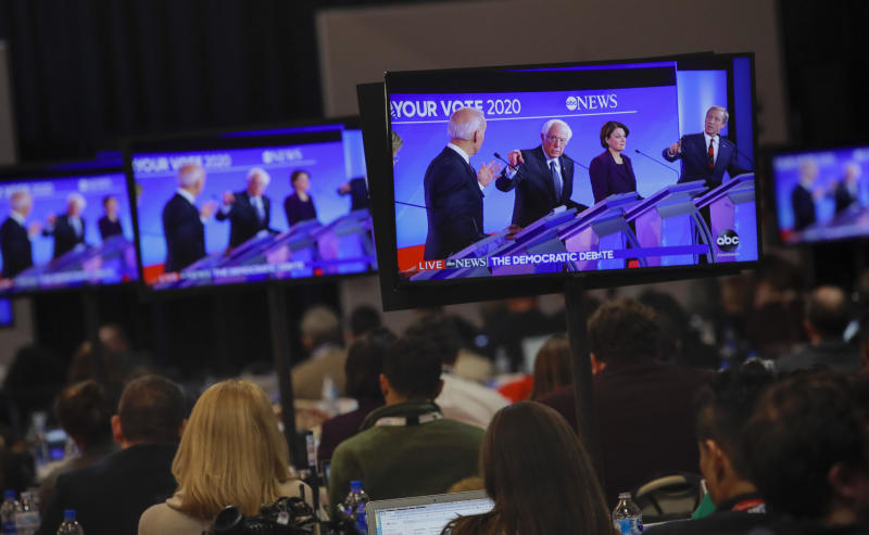 Who has qualified for the Nevada Democratic debate so far?