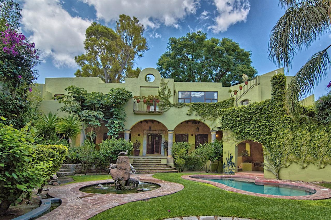 """<p>San Miguel De Allende, Mexico<br /> 6,336-square-feet, comes with swimming pool and large garden including turtle pond<br /> 3 bedrooms, 2 bathrooms<br /> (<a rel=""""nofollow"""">Sotheby's International</a>) </p>"""