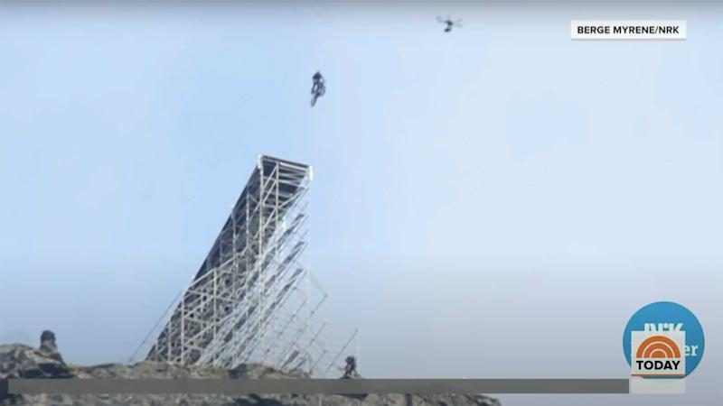 Tom Cruise Mission: Impossible 7 Bike Jump