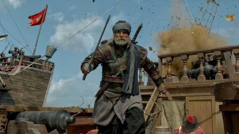 A Still Of Amitabh Bachchan From Thugs Of Hindostan