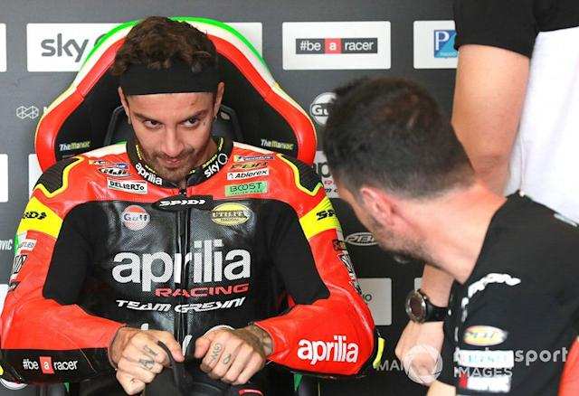 "Andrea Iannone, Aprilia Racing Team Gresini <span class=""copyright"">Gold and Goose / Motorsport Images</span>"