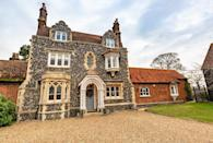 """<p>Perfect for those looking to holiday in the country, Buckinghamshire House is set in beautiful Beaconsfield, in the Chilterns. Some of the irresistible features worth making a fuss about include the grand drawing room, Insta-worthy kitchen, dining area and stone fireplace — perfect for cold evenings. </p><p><a class=""""link rapid-noclick-resp"""" href=""""https://big-cottages.com/properties/united-kingdom/england/south-east/buckinghamshire/south-bucks-district/beaconsfield/beaconsfield-cottage"""" rel=""""nofollow noopener"""" target=""""_blank"""" data-ylk=""""slk:MORE INFO"""">MORE INFO</a> </p>"""