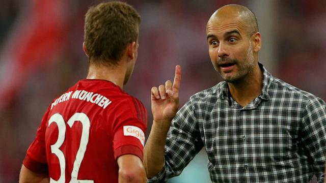 The Man City boss enjoyed three trophy-laden years with the Bundesliga giants and rumours have linked him with a return to Bavaria