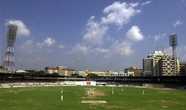 India have a strong early record in Hyderabad (Rebecca Naden/PA)