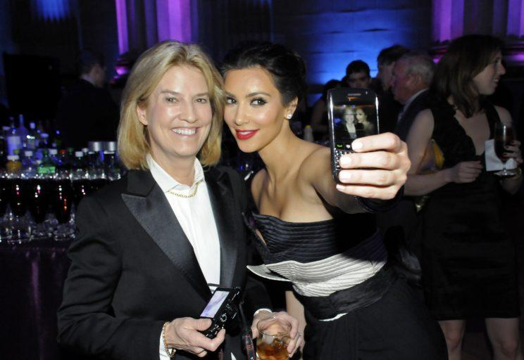 When the Washington, D.C., event was overrun with Kardashians, that was an indication! Here's Kim Kardashian with Greta Van Susteren at the White House Correspondents' Dinner in 2010, which was the first year the reality star attended. (Photo: AP Photo)