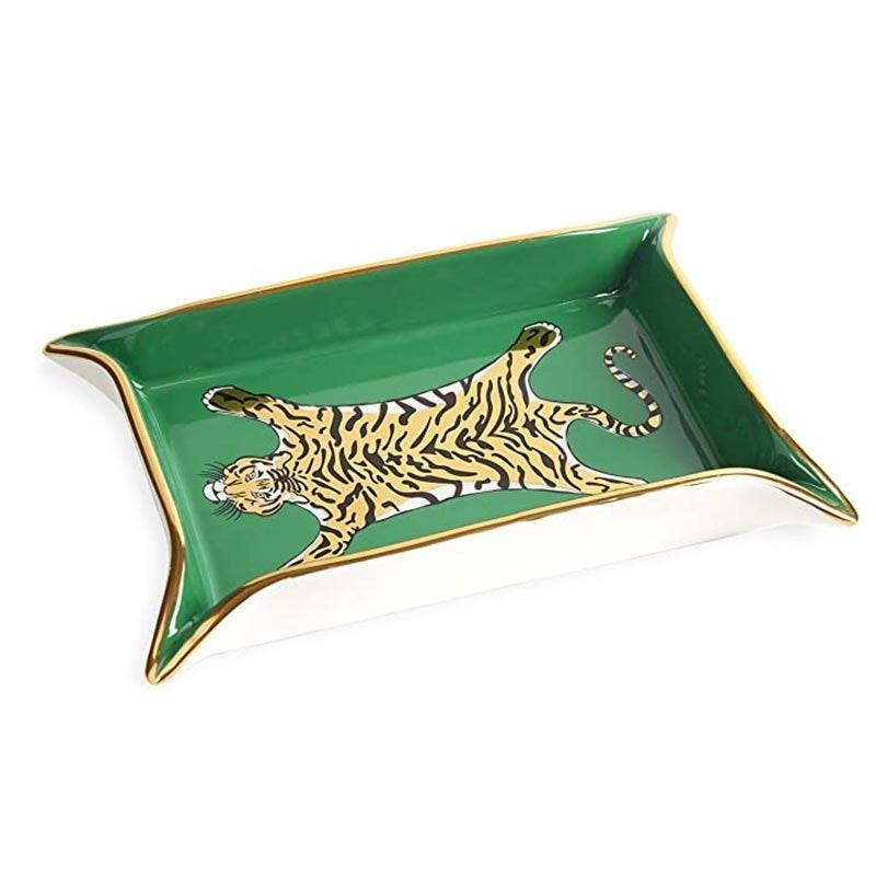 "Jonathan Adler's valet trays are a popular holiday gift option for sisters, coworkers, or best friends. $68, Amazon. <a href=""https://www.amazon.com/Jonathan-Adler-Tiger-Valet-Tray/dp/B01M7XD0CO?"" rel=""nofollow noopener"" target=""_blank"" data-ylk=""slk:Get it now!"" class=""link rapid-noclick-resp"">Get it now!</a>"